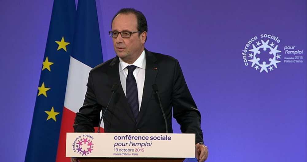 Presidente François Hollande 19 de Outubro 2015