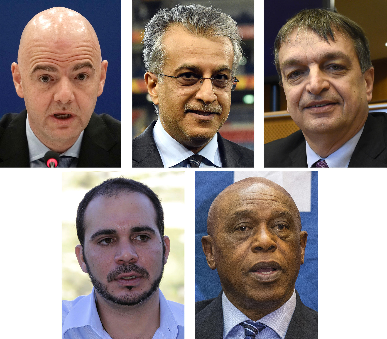Канидаты на пост президента Fifa