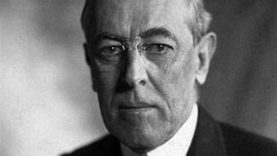 លោក Woodrow Wilson ប្រធានាធិបតីអាមេរិកដែលប្រកាសសង្រ្គាមលើអាល្លឺម៉ង់ ក្នុងសង្រ្គាមលោកលើកទី១