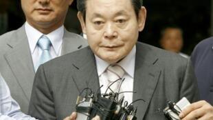 韓國財界巨頭、三星集團會長李健熙2020年10月25日因病去世,享年78歲。資料照片
