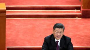 中国国家主席习近平12月18日在人民大会堂发表改革40周年演说