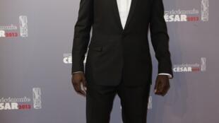 O ator francês durante a cerimônia de entrega do César, o maior prêmio cinematográfico da França, em Paris no dia 22 de fevereiro.