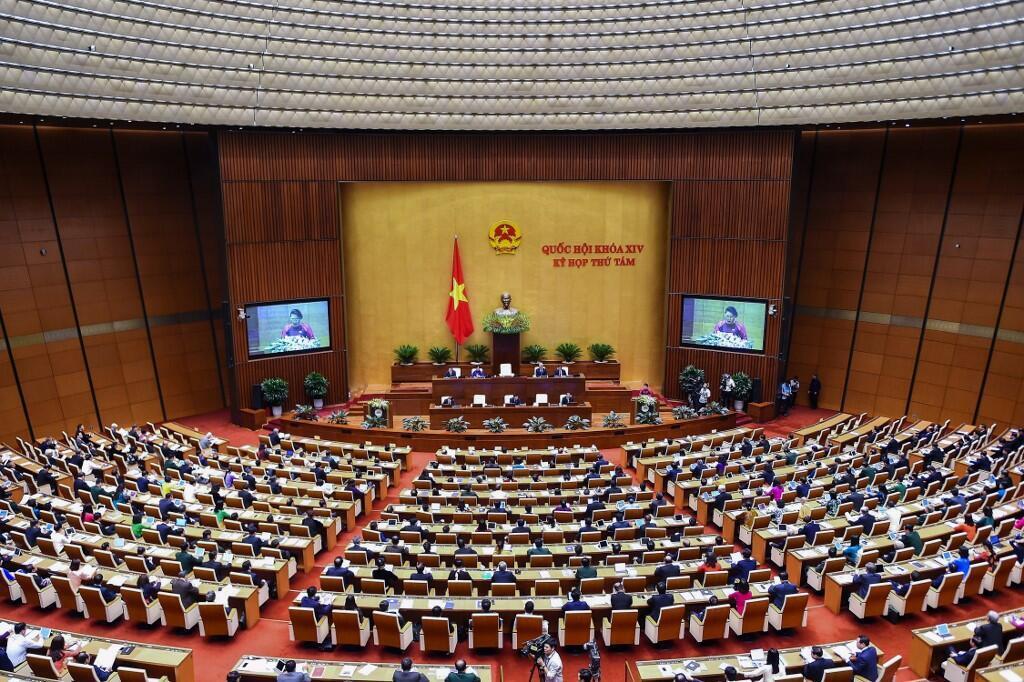 Phiên khai mạc kỳ họp thứ 8 Quốc Hội Việt Nam khóa 14 ngày 21/10/2019.