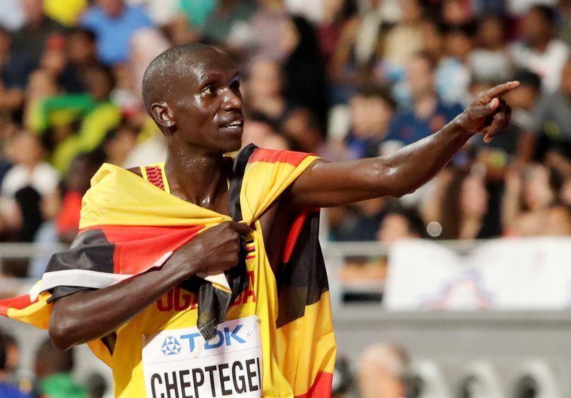 Zakaran tseren gudun yada-kanin wani na duniya, Joshua Cheptegei dan kasar Uganda.