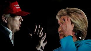 Donald Trump na Hillary Clinton wagombea wa urais nchini Marekani