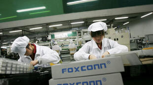 富士康工廠工人資料圖片