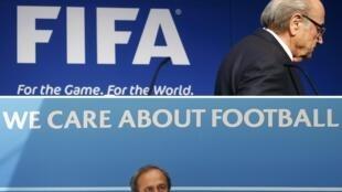 FIFA ta dakatar da Sepp Blatter da Michel Platini na tsawon shekaru 8