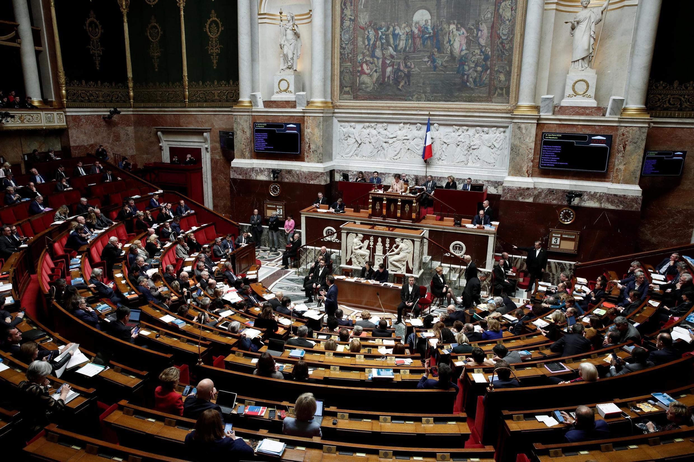 Национальное собрание Франции, заседание 3 марта 2020 года.