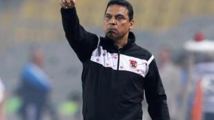 L'Égyptien Hossam El Badry, en 2018.