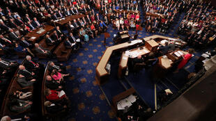 The floor of the US House of Representatives, which passed a resolution recognising the Armenian genocide