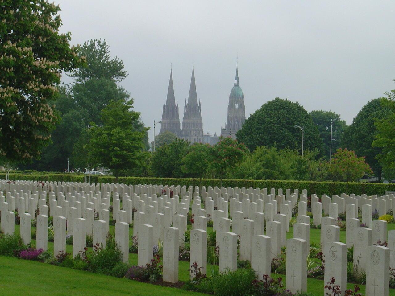Британское воинское кладбище в Байё