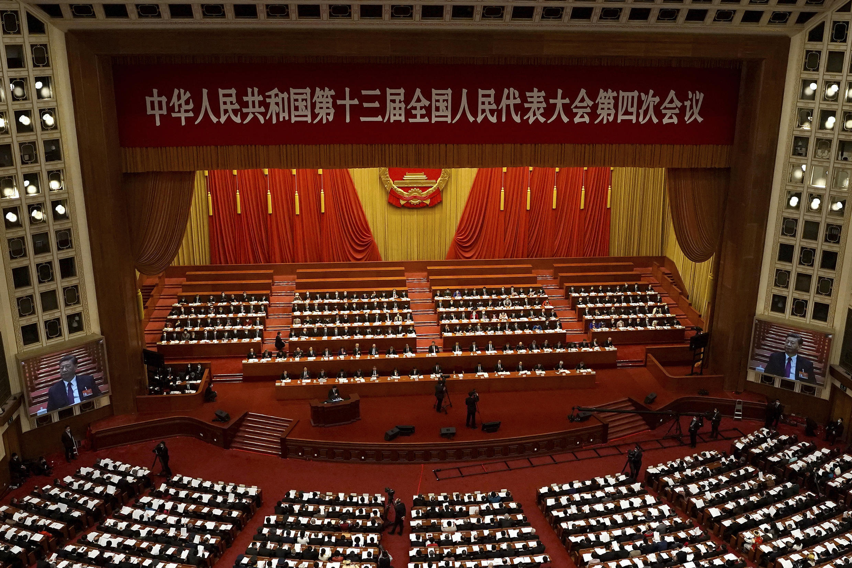 Chine - Congrès national du parti communiste - AP21076191617287