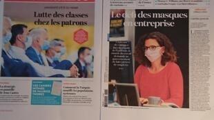 Diários franceses 27 08 2020
