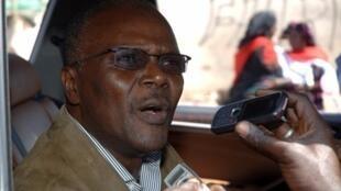 Ousmane Tanor Dieng, le leader du Parti socialiste sénégalais.