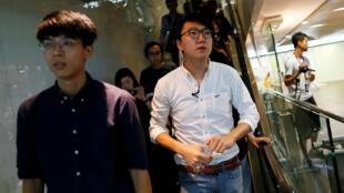 Lương Thiên Kỳ (Edward Leung), thành viên Hongkong Indigenous tuyên bố ứng cử Hội đồng lập pháp Hồng Kông ngày 02/08/2016.