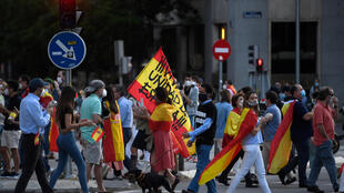 """Banging pots, demonstrators have hit the streets demanding """"freedom"""" and Sanchez's resignation"""