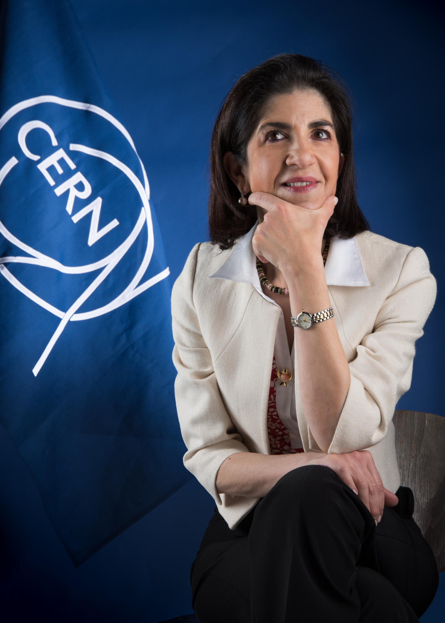 Portrait du Dr. Fabiola Gianotti.