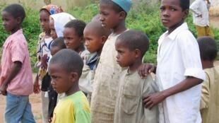 Wakimbizi kutoka Jamhuri ya Afrika ya Kati huko Bertoua, mashariki mwa Cameroon.