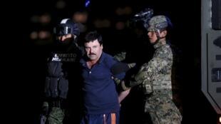 Joaquin «El Chapo» Guzman a été arrêté le 8 janvier 2016 après de nombreux mois de cavale.