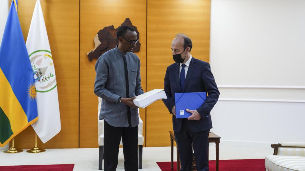 Génocide des Tutsi au Rwanda: le rapport Duclert officiellement remis au président Kagame