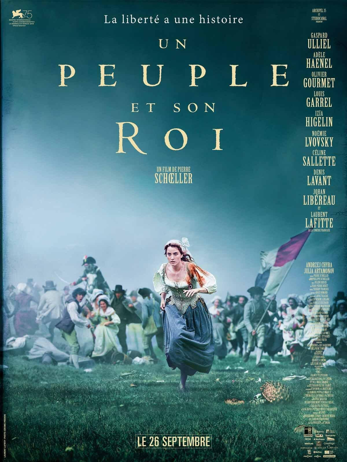 """Affiche du film """"Un peuple et son Roi"""" de Pierre Schöller"""