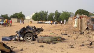 遭遇博科聖地武裝分子洗劫後的尼日利亞東部地區 2018年4月27日