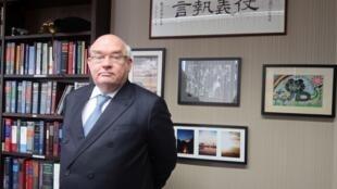 香港大律师公会主席戴启思资料图片
