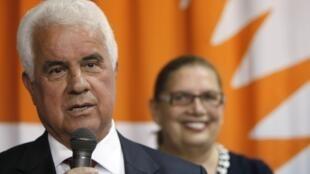 Dervis Eroglu, récemment élu à la tête de la République turque de Chypre-Nord.