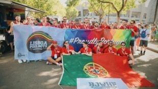 Gay Games em Paris.