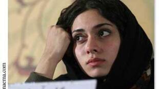 La journaliste, actrice et réalisatrice iranienne, Pegah Ahangarani.