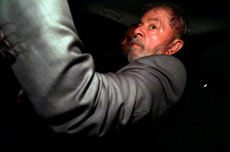 O ex-presidente Lula acompanhou o julgamento do STF na sede do sindicato dos metalúrgicos em São Barnardo do Campo.