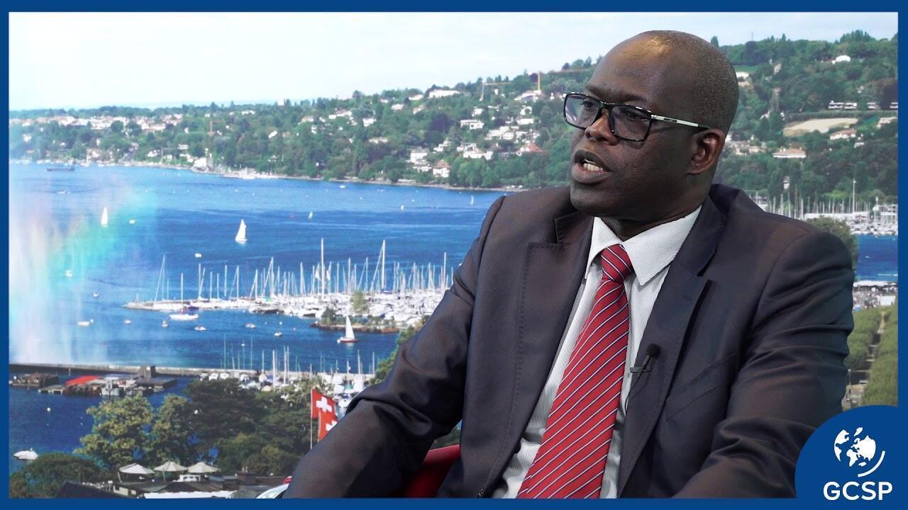 Le Général Adama Guèye, directeur général du Centre des hautes études de Défense et de Sécurité.