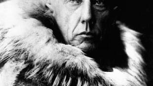 Photo non datée de l'explorateur Roald Amundsen. Date possible: 1912 ou avant.