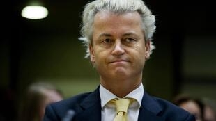 Le député néerlandais d'extrême droite Geert Wilders.