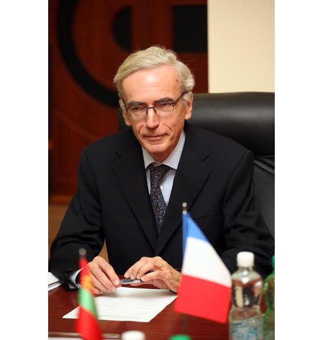 Чрезвычайный полномочный посол Франции в Молдавии Жерар Гийоно