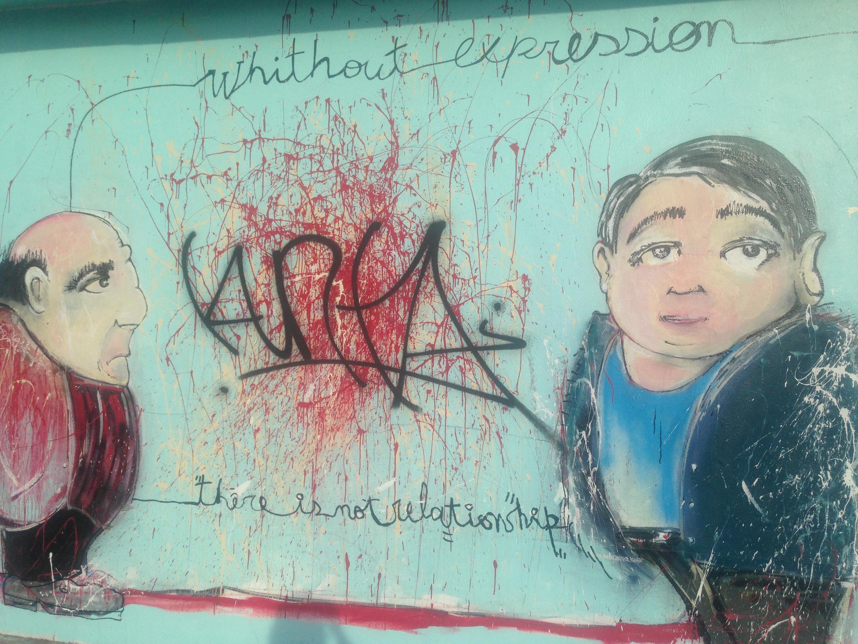 Une fresque murale du quartier Little Haïti, à Miami.