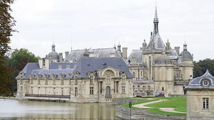 El castillo de Chantilly.