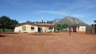 Le centre de santé de base de la commune rurale d'Iarintsena, dans le sud de Madagascar.