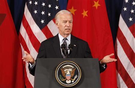 O vice-presidente americano Joe Biden faz viagem oficial à China.