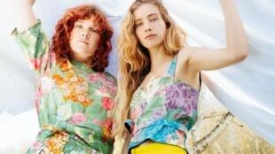 La marque Les Récupérables, qui utilise des tissus prêts à être jetés pour en faire des habits, 22 mai 2019