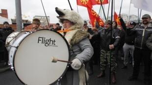 Cuộc Tuần hành Nga do những người theo chủ nghĩa dân tộc cực đoan Nga tổ chức ngày 4/11/2012.