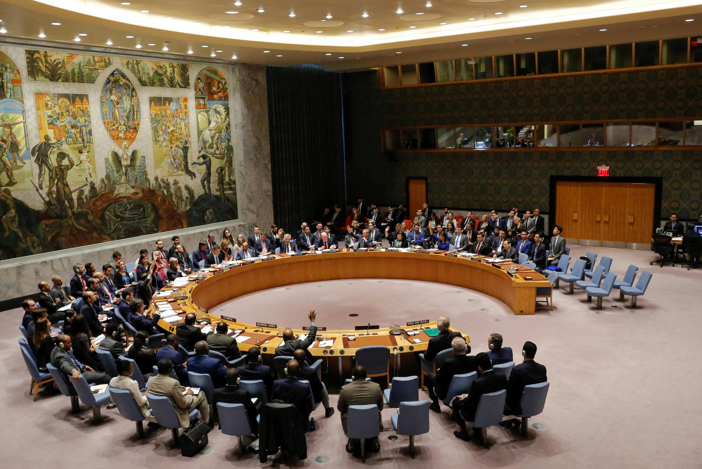 Ảnh minh họa : một phiên họp của Hội Đồng Bảo An Liên Hiệp Quốc.