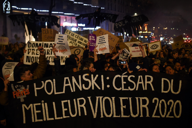 2020-02-28 france cesars cesar awards roman polanski violeur rape