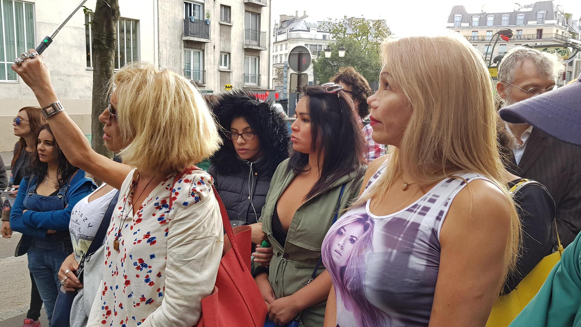 Hommage à la prostituée transgenre, Vanessa Campos assassinée au Bois de Boulogne dans la nuit du 16 août 2018.
