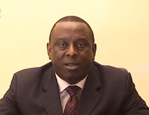 Cheikh Tidiane Gadio, ancien ministre des Affaires étrangères du Sénégal.