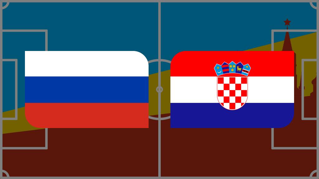 Coupe du monde 2018: vivez Russie-Croatie en direct