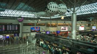 L'aéroport international de Taoyuan àTaiwan.