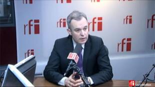 François de Rugy, député Vert de Loire-Atlantique, co-président du groupe écologiste à l'Assemblée nationale.