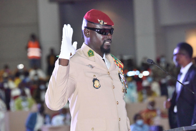 Guinée Conakry - Mamady Doumbouya - investiture - président