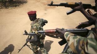 Wanajeshi wa Sudan Kusini